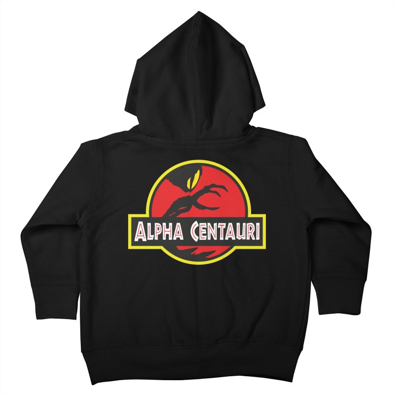 Alpha Centauri - Lost in Space Kids Toddler Zip-Up Hoody by Ian J. Norris