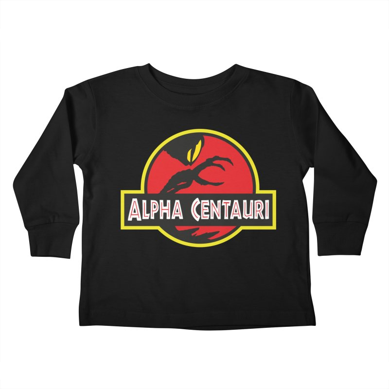 Alpha Centauri - Lost in Space Kids Toddler Longsleeve T-Shirt by Ian J. Norris