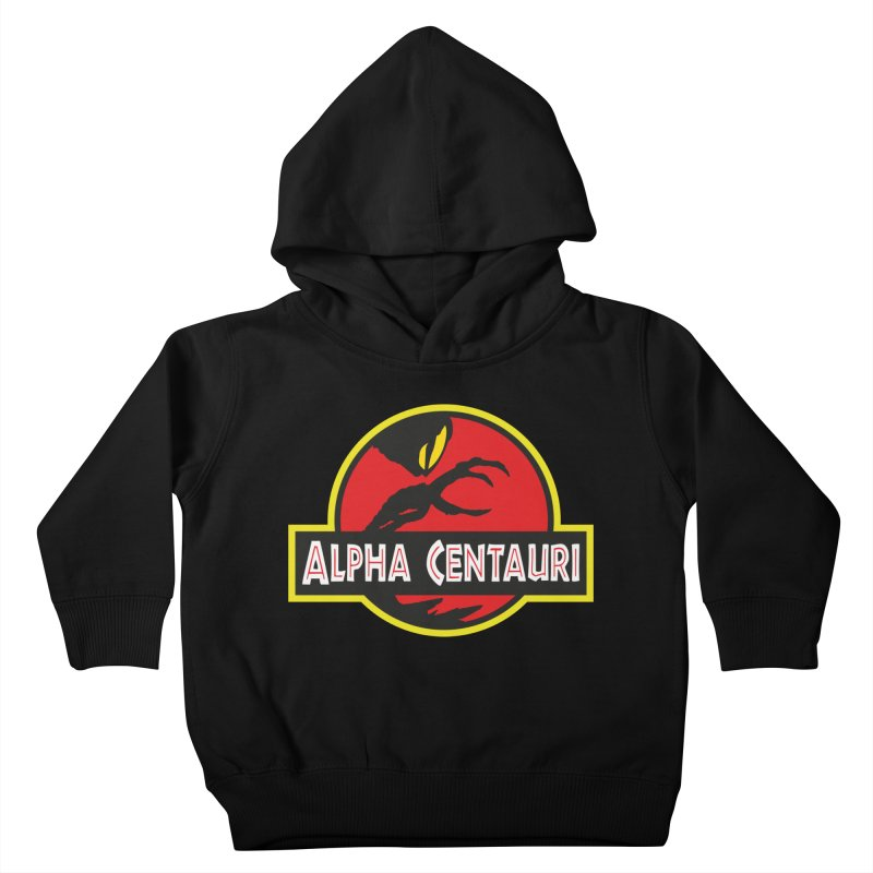 Alpha Centauri - Lost in Space Kids Toddler Pullover Hoody by Ian J. Norris