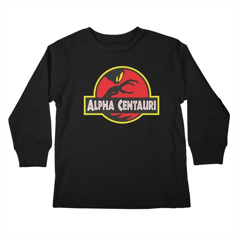 Alpha Centauri - Lost in Space Kids Longsleeve T-Shirt by Ian J. Norris