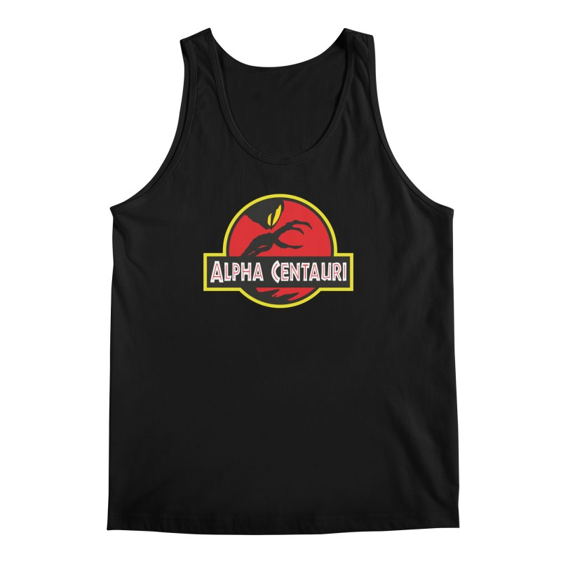 Alpha Centauri - Lost in Space Men's Regular Tank by Ian J. Norris