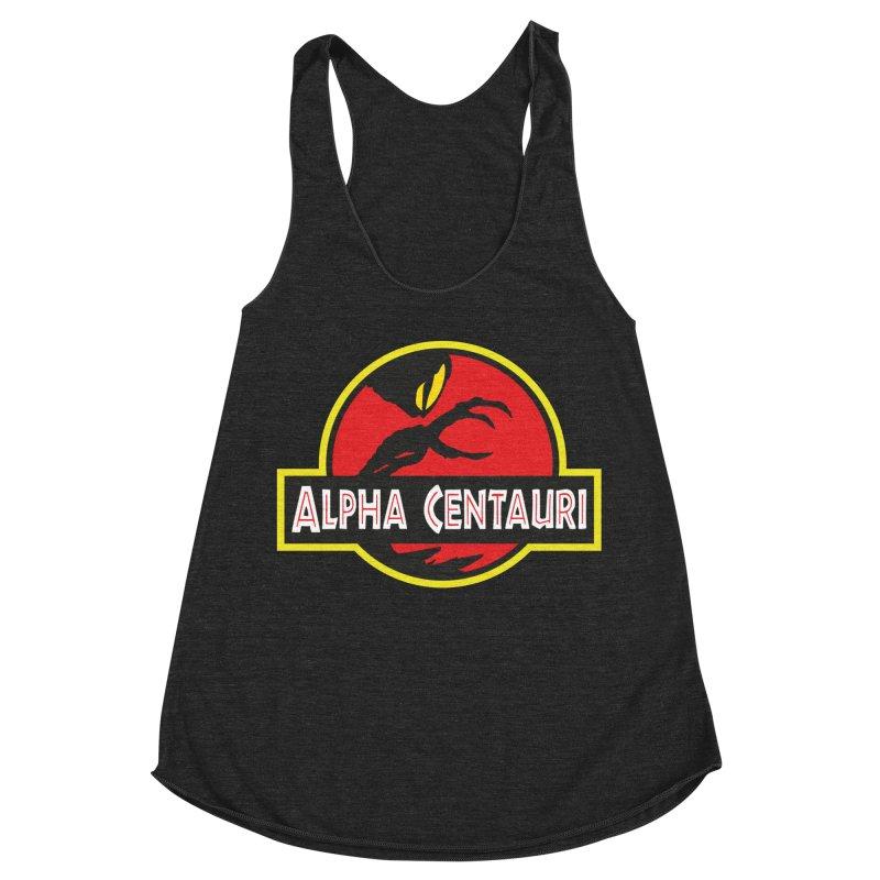 Alpha Centauri - Lost in Space Women's Racerback Triblend Tank by Ian J. Norris