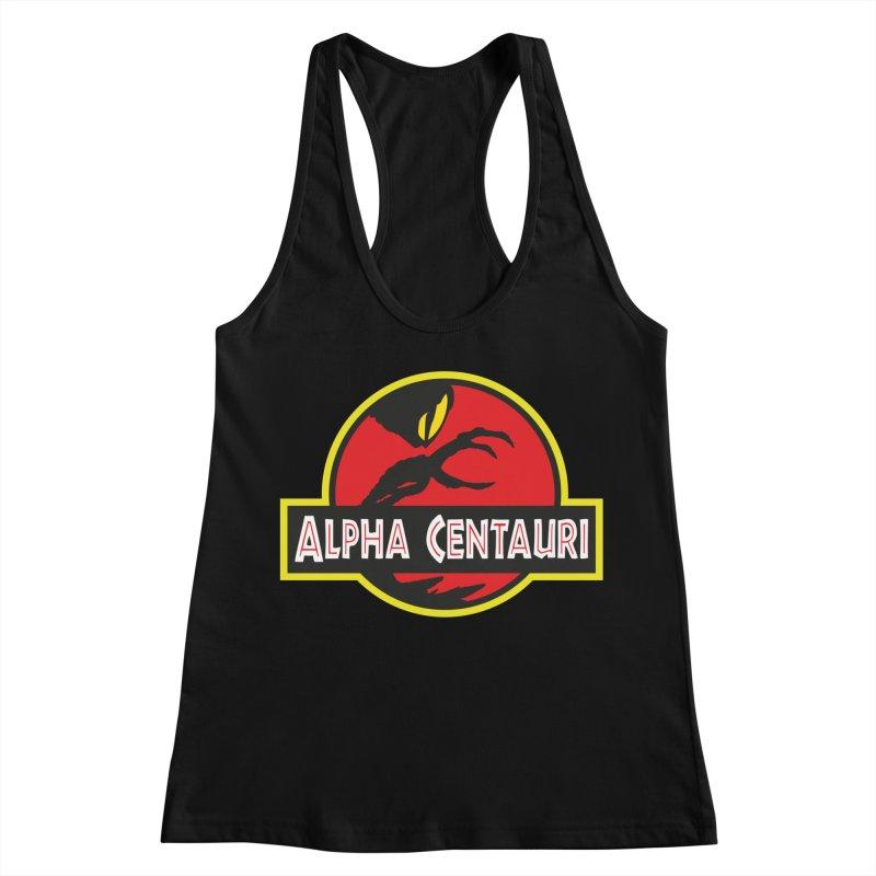Alpha Centauri - Lost in Space Women's Racerback Tank by Ian J. Norris