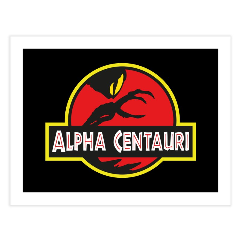 Alpha Centauri - Lost in Space Home Fine Art Print by Ian J. Norris
