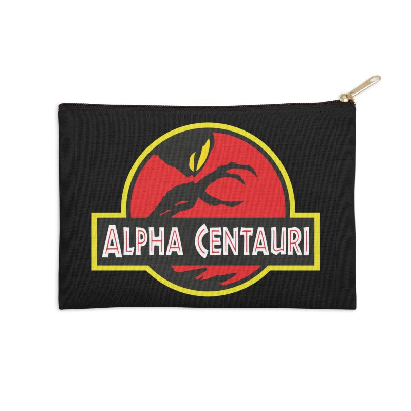 Alpha Centauri - Lost in Space Accessories Zip Pouch by Ian J. Norris