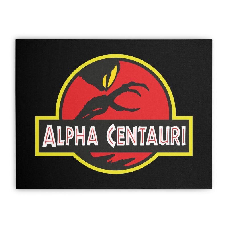 Alpha Centauri - Lost in Space Home Stretched Canvas by Ian J. Norris