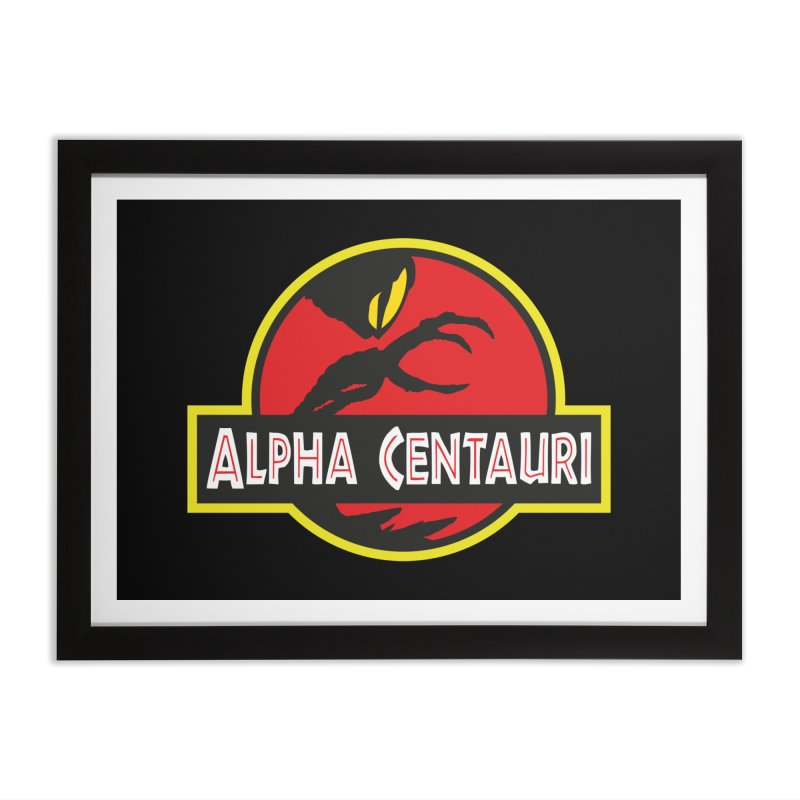 Alpha Centauri - Lost in Space Home Framed Fine Art Print by Ian J. Norris