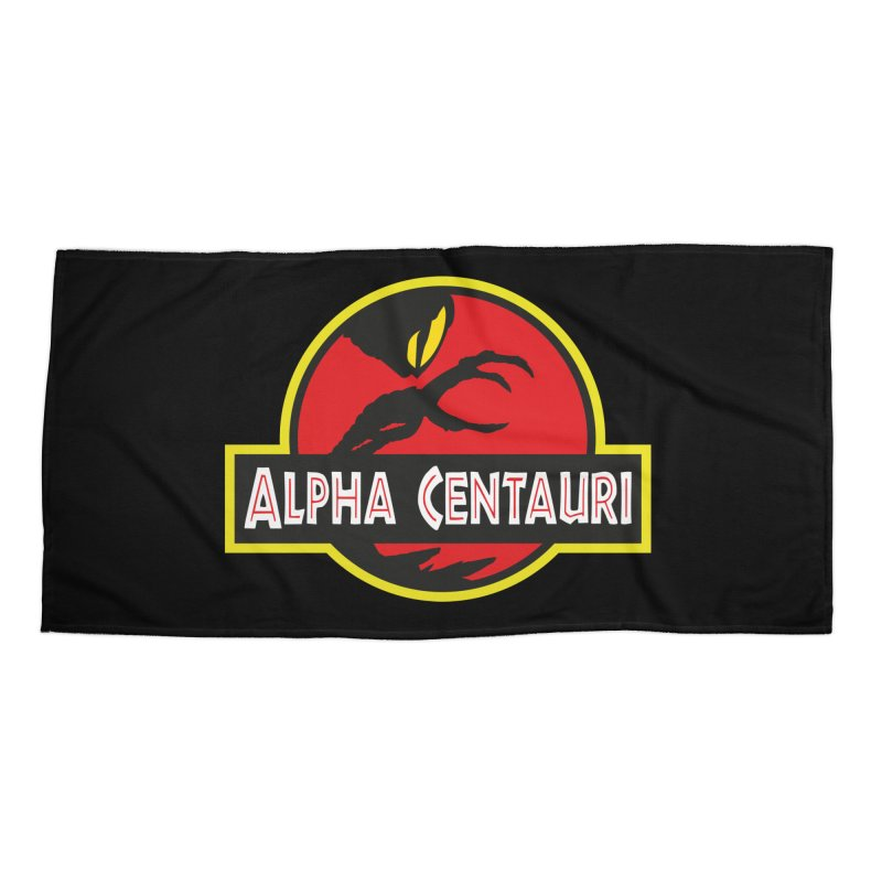 Alpha Centauri - Lost in Space Accessories Beach Towel by Ian J. Norris