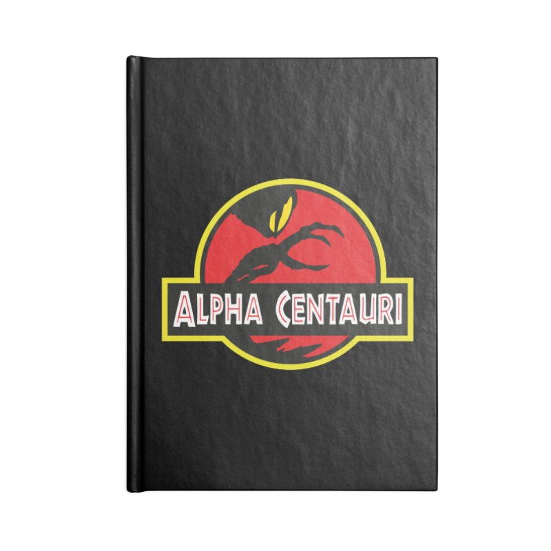 Alpha Centauri - Lost in Space Accessories Lined Journal Notebook by Ian J. Norris
