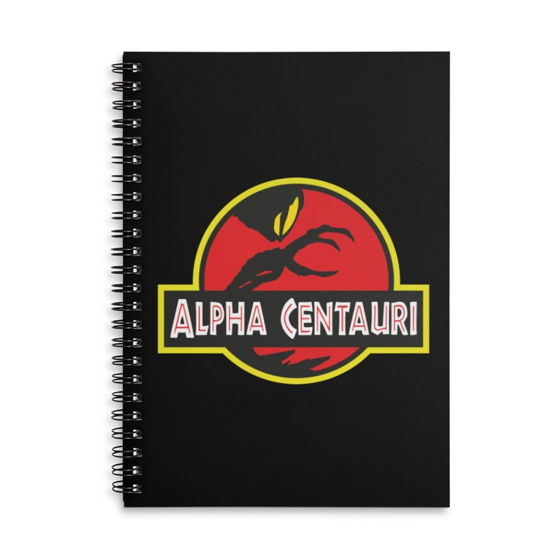 Alpha Centauri - Lost in Space Accessories Lined Spiral Notebook by Ian J. Norris