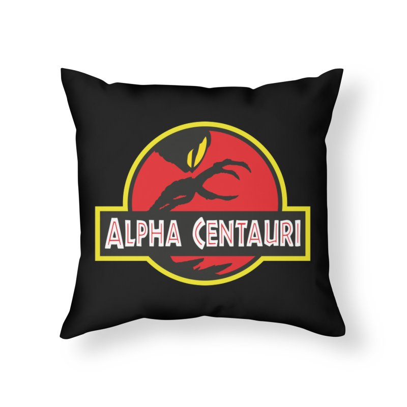 Alpha Centauri - Lost in Space Home Throw Pillow by Ian J. Norris