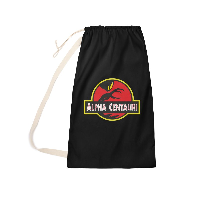 Alpha Centauri - Lost in Space Accessories Laundry Bag Bag by Ian J. Norris