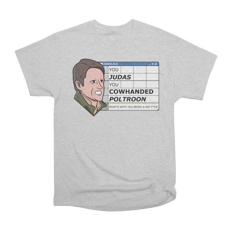 Jared - You Judas Women's T-Shirt by Ian J. Norris