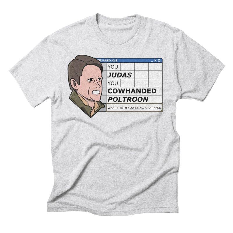 Jared - You Judas Men's T-Shirt by Ian J. Norris
