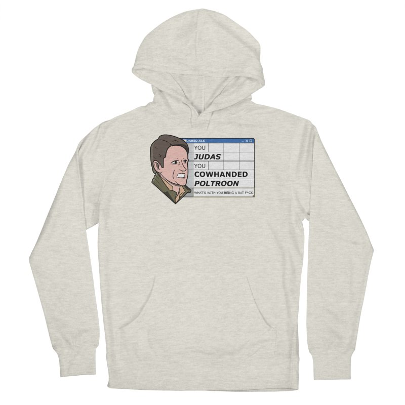 Jared - You Judas Women's French Terry Pullover Hoody by Ian J. Norris