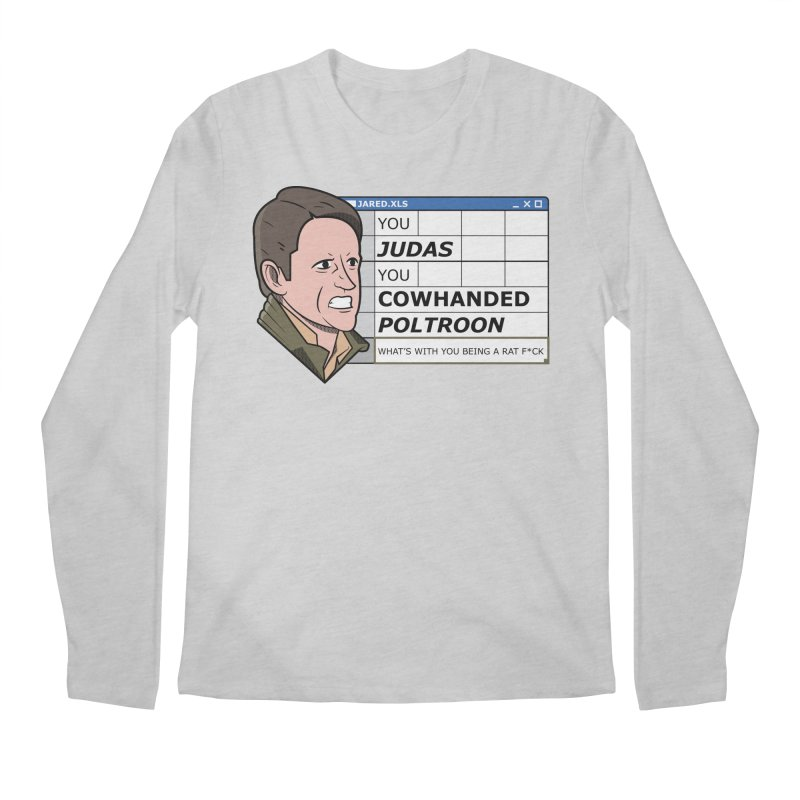 Jared - You Judas Men's Longsleeve T-Shirt by Ian J. Norris