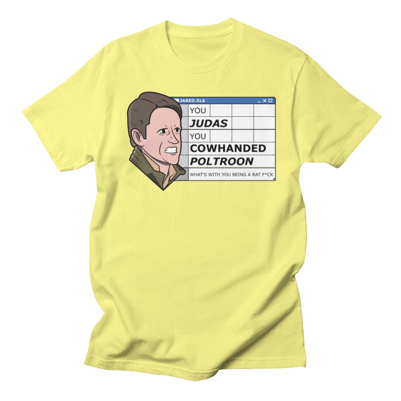Jared - You Judas Women's Regular Unisex T-Shirt by Ian J. Norris