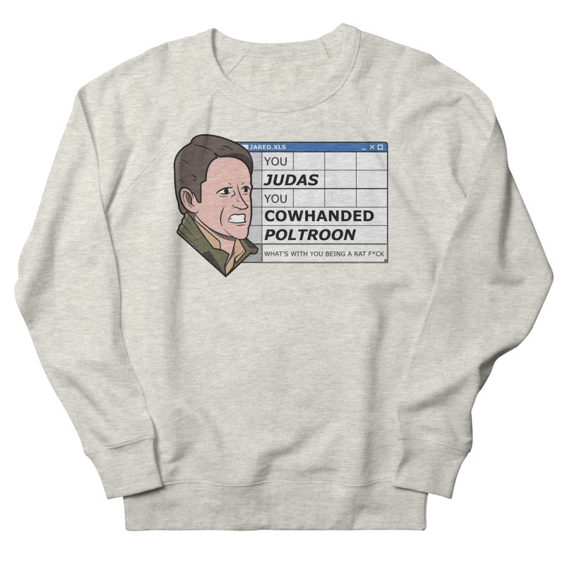 Jared - You Judas Women's French Terry Sweatshirt by Ian J. Norris
