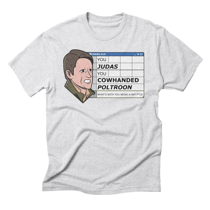 Jared - You Judas Men's Triblend T-Shirt by Ian J. Norris