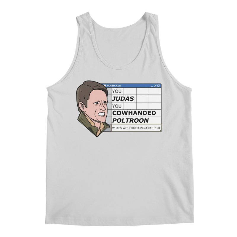 Jared - You Judas Men's Regular Tank by Ian J. Norris