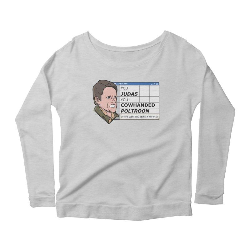 Jared - You Judas Women's Scoop Neck Longsleeve T-Shirt by Ian J. Norris