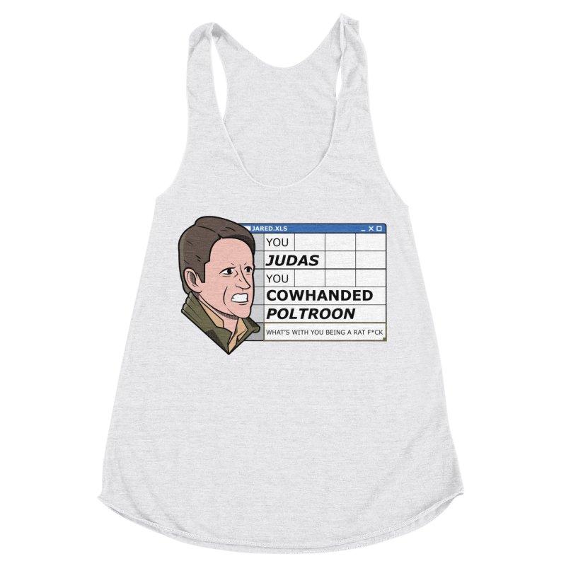 Jared - You Judas Women's Tank by Ian J. Norris