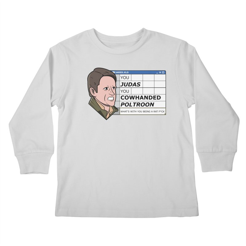 Jared - You Judas Kids Longsleeve T-Shirt by Ian J. Norris