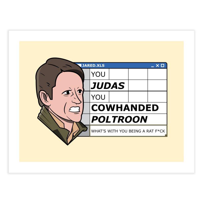 Jared - You Judas Home Fine Art Print by Ian J. Norris