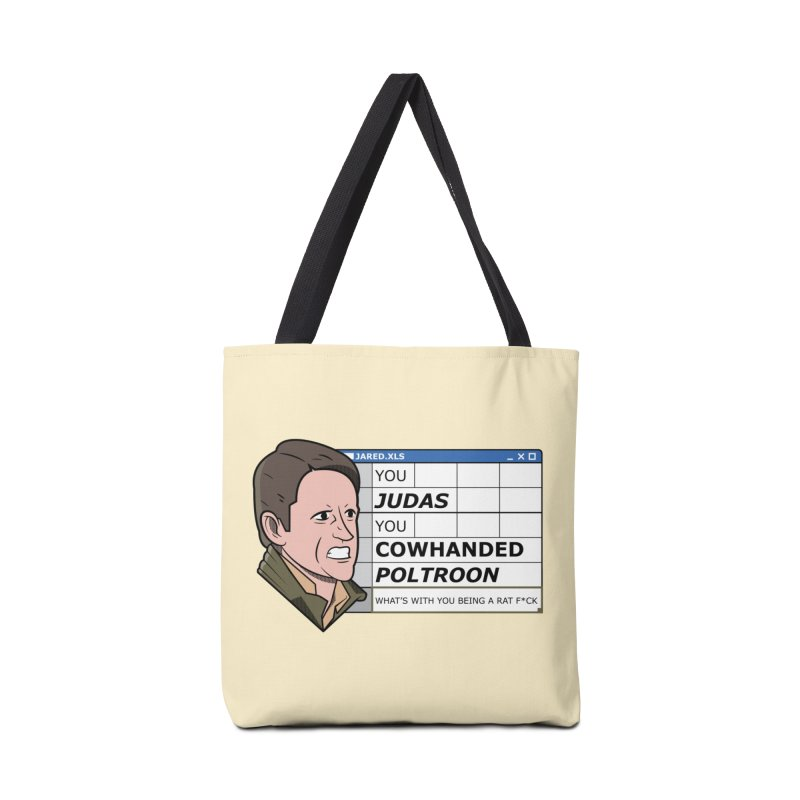 Jared - You Judas Accessories Bag by Ian J. Norris