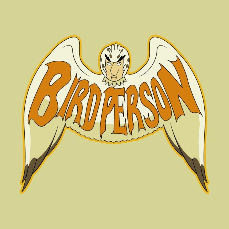 Bird Person Men's T-Shirt by Ian J. Norris