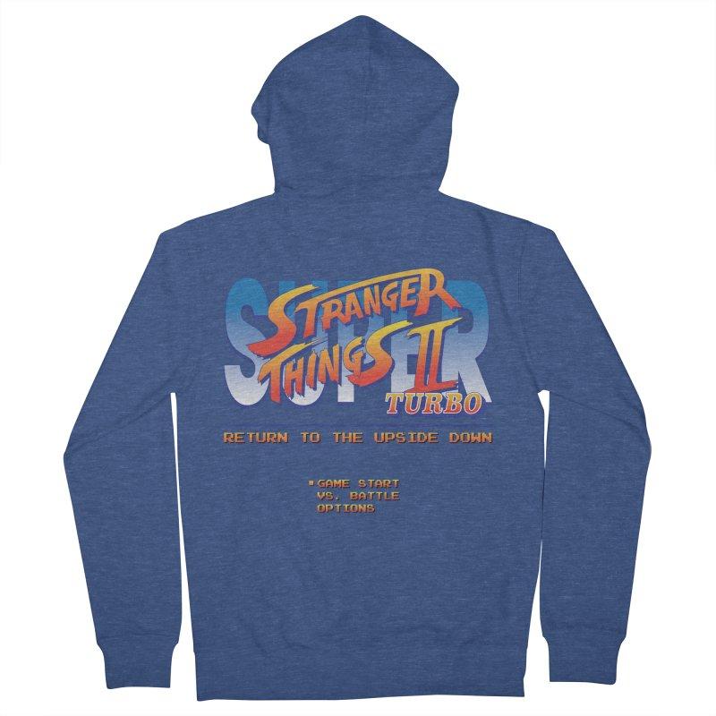 Super Stranger Things 2 Turbo Men's Zip-Up Hoody by Ian J. Norris
