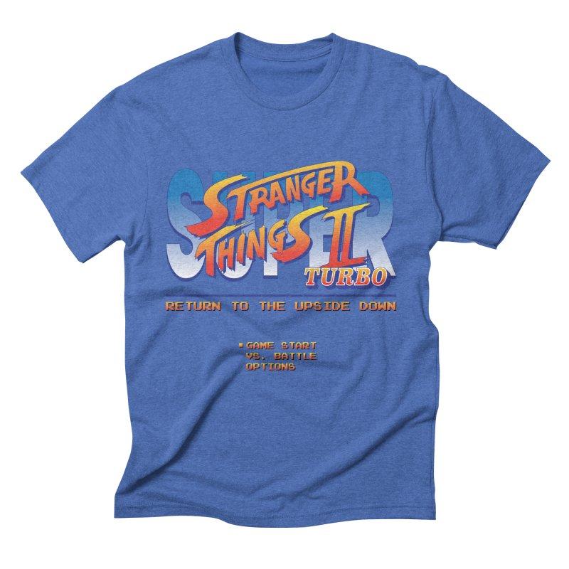 Super Stranger Things 2 Turbo Men's T-Shirt by Ian J. Norris
