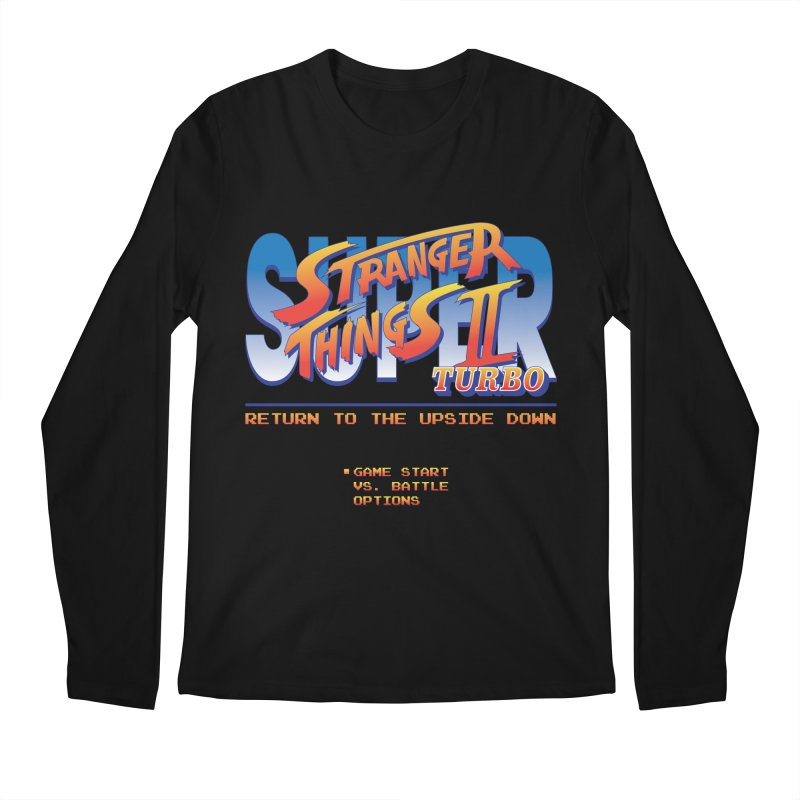 Super Stranger Things 2 Turbo Men's Longsleeve T-Shirt by Ian J. Norris