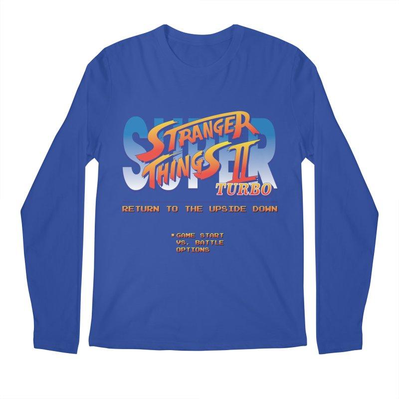 Super Stranger Things 2 Turbo Men's Longsleeve T-Shirt by Ian J. Norris