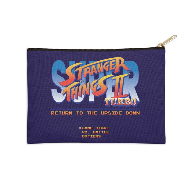 Super Stranger Things 2 Turbo Accessories Zip Pouch by Ian J. Norris