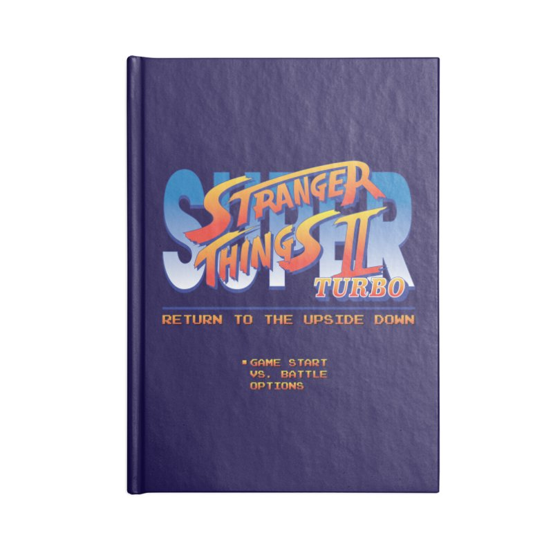 Super Stranger Things 2 Turbo Accessories Notebook by Ian J. Norris