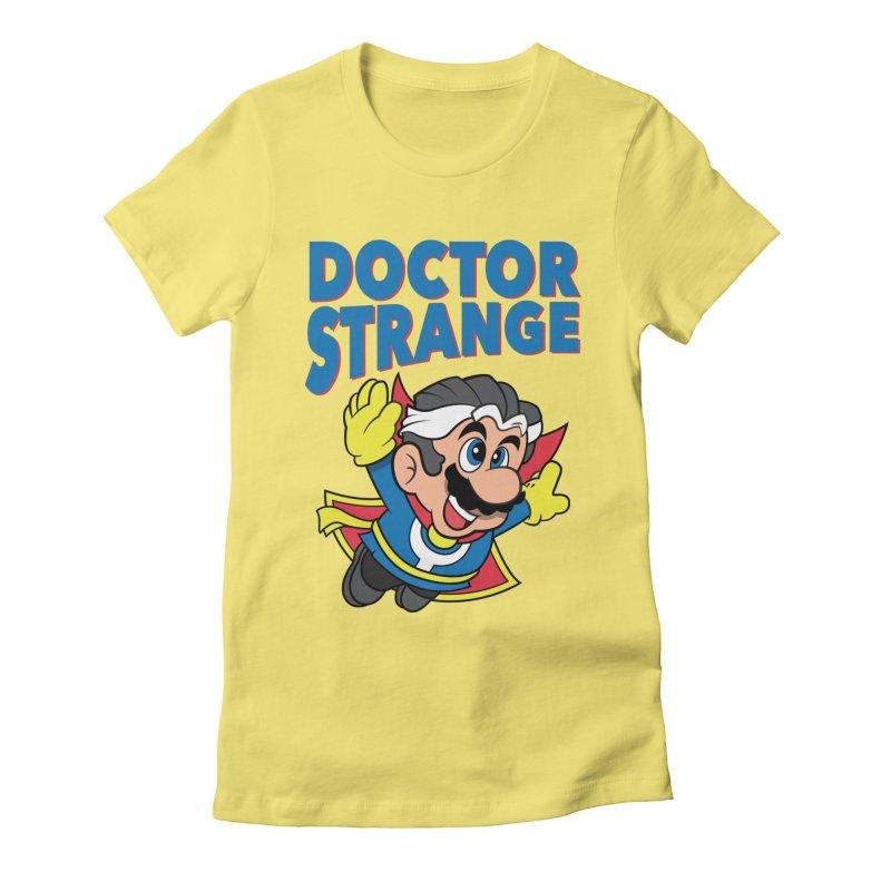 Doctor Strange Women's T-Shirt by Ian J. Norris