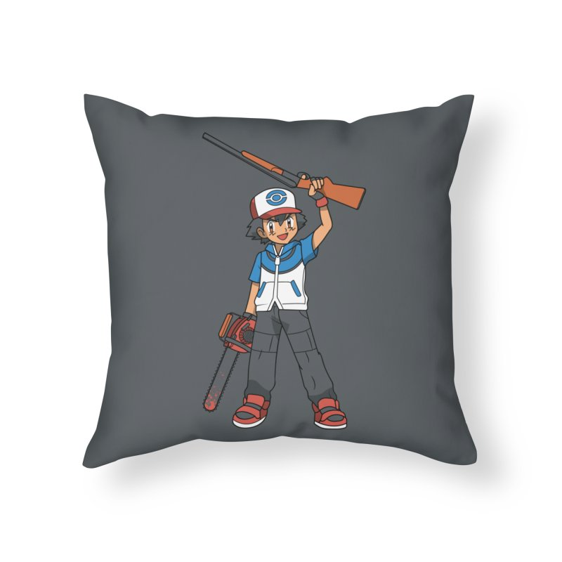 Ash Home Throw Pillow by Ian J. Norris