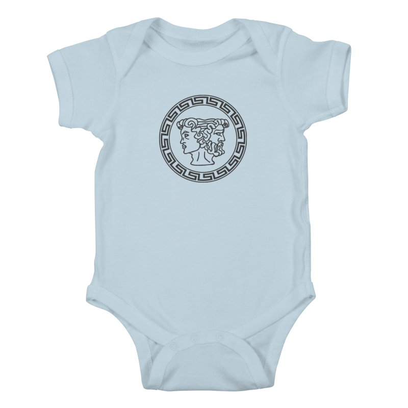 Ianus Couture (Vintage) Kids Baby Bodysuit by Ianus Couture