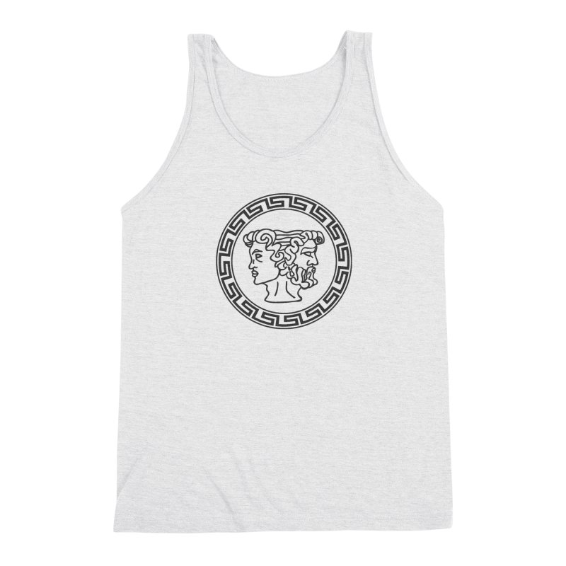 Ianus Couture (Vintage) Men's Triblend Tank by Ianus Couture