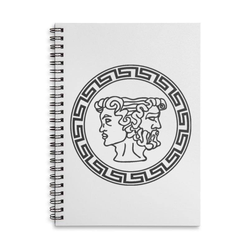 Ianus Couture (Vintage) Accessories Lined Spiral Notebook by Ianus Couture