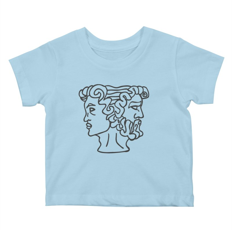 Ianus Couture (Past, Present, Future) Kids Baby T-Shirt by Ianus Couture