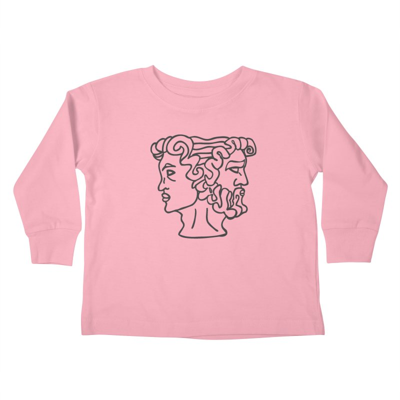 Ianus Couture (Past, Present, Future) Kids Toddler Longsleeve T-Shirt by Ianus Couture