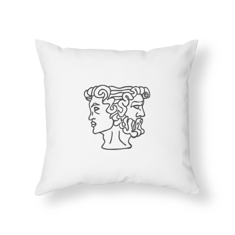 Ianus Couture (Past, Present, Future) Home Throw Pillow by Ianus Couture