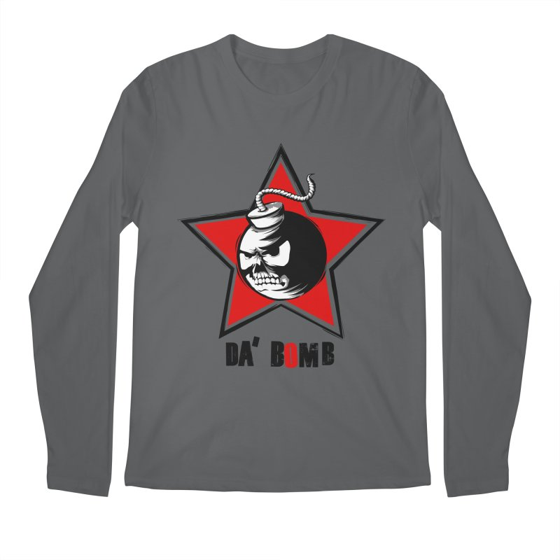 Da Bomb Men's Longsleeve T-Shirt by ianvox's Shop