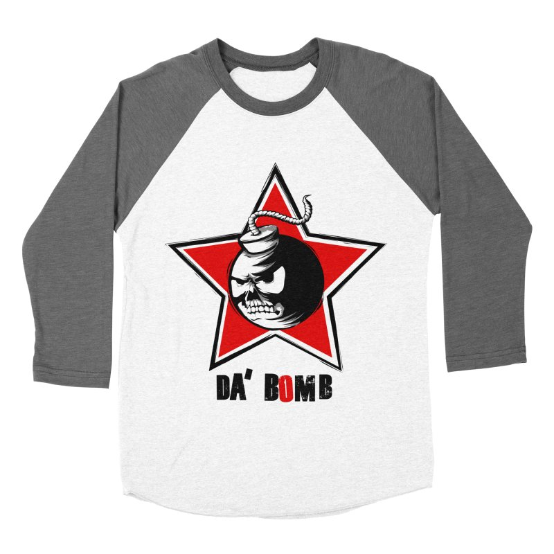 Da Bomb Women's Baseball Triblend T-Shirt by ianvox's Shop