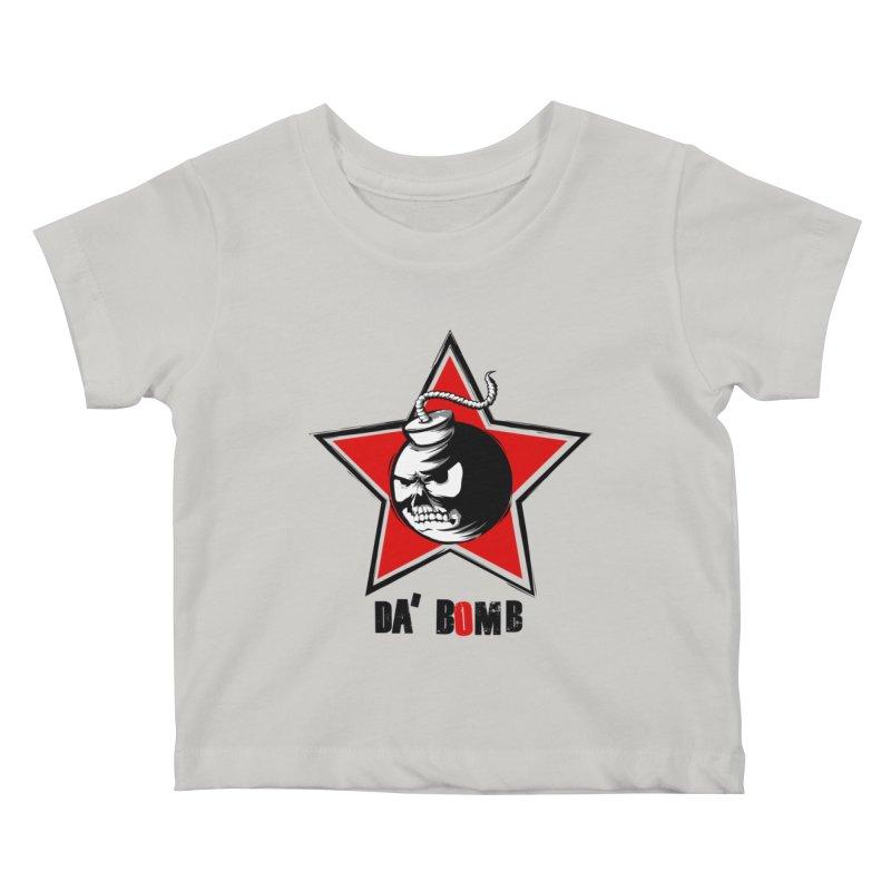 Da Bomb Kids Baby T-Shirt by ianvox's Shop