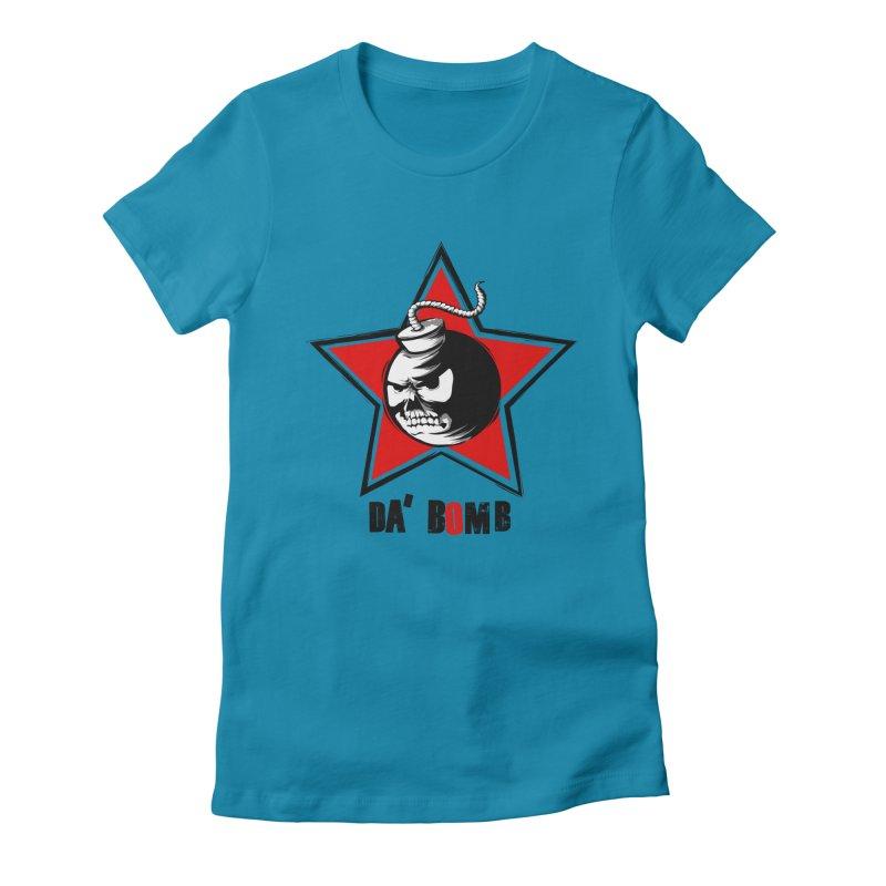 Da Bomb Women's Fitted T-Shirt by ianvox's Shop