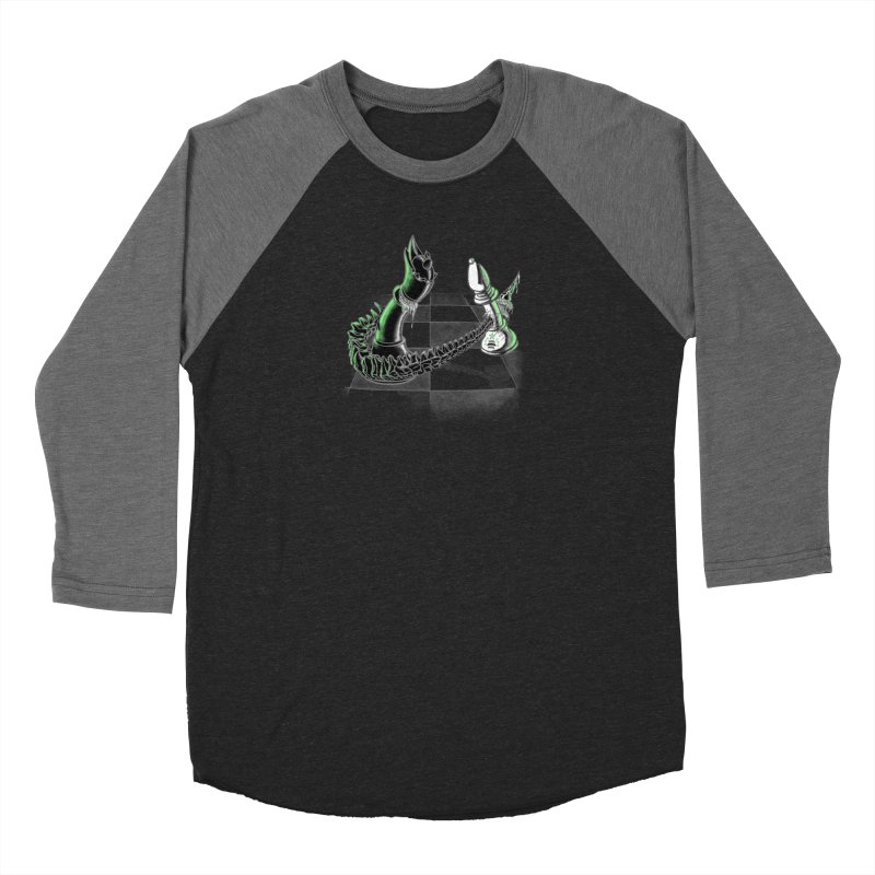 Queen Takes Bishop Men's Baseball Triblend Longsleeve T-Shirt by ibeenthere's Artist Shop