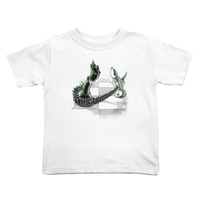 Queen Takes Bishop Kids Toddler T-Shirt by ibeenthere's Artist Shop